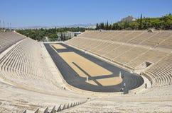 Panathenaic Stadium, Athens Royalty Free Stock Photo