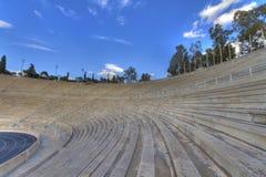 Panathenaic stadium,kallimarmaro in Athens Royalty Free Stock Photo