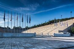 Panathenaic stadium,kallimarmaro in Athens Stock Photography