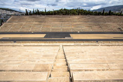 Panathenaic stadium or kallimarmaro in Athens Stock Images