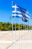 The Panathenaic Stadium, Kallimarmaro, Athens, Greece Stock Photography