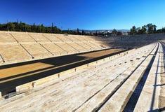 Panathenaic Stadium - Kallimarmaro is a multi purpose stadium in Athens, Greece royalty free stock photos