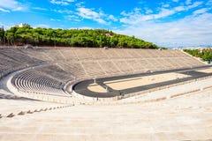 Panathenaic stadium także Kallimarmaro Zdjęcie Royalty Free