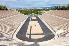 Panathenaic stadium także Kallimarmaro Zdjęcie Stock
