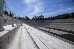 Panathenaicstadion in Athene Stock Afbeeldingen