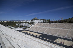 Panathenaicstadion in Athene Stock Foto