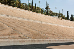 Panathenian Stadium in Athens, Greece Stock Photography
