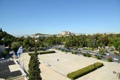 Panathinaic体育场雅典希腊 免版税库存照片