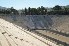 Panathinaic stadionAten Grekland arkivbild