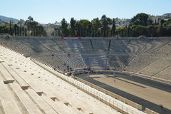Panathinaic Stadium Athens Greece Stock Photography