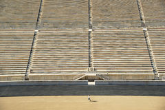 Panathinaic Stadium Athens Greece Stock Photo