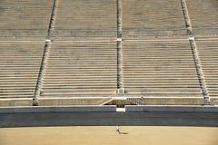 Panathinaic Stadium Athens Greece Stock Photo