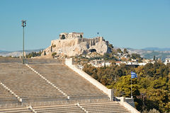 Panathinaic Stadium Athens Greece Royalty Free Stock Image