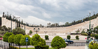 Panathinaiko Stadium in Athens Royalty Free Stock Photo