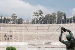 Panathinaiko Stadium in Athens Royalty Free Stock Image