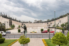 Panathinaiko Stadium in Athens Stock Image