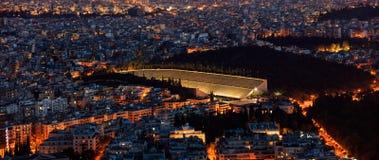 Panathinaiko stadium in Athens, Greece Royalty Free Stock Photos
