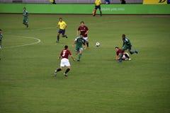 Panathinaikos Athene versus Sparta Praha Stock Foto's