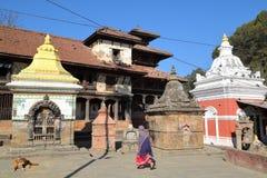 PANAUTI, NEPAL: Indreshwar Mahadev Temple Stock Images