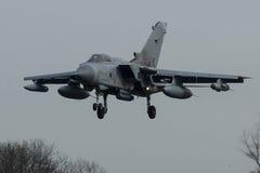 A Panavia Tornado GR.4 on final at Frisian Flag Royalty Free Stock Photography