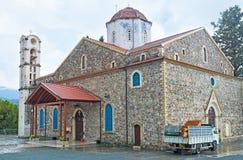 Panayia of Agros Church Stock Photo