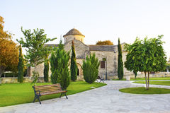 Panayia Angeloktisti,塞浦路斯, Kiti教会  免版税图库摄影