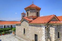 Panayia Malevi修道院  免版税库存照片
