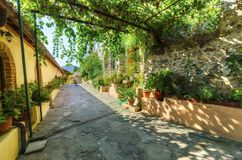 Panayia Pantanassa monastery, Mystras, Greece Stock Images