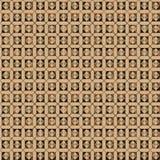 Pancadinha do retângulo de Brown Fotos de Stock Royalty Free