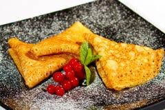 Pancake 1 Fotografie Stock Libere da Diritti