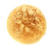 Pancake. Isolated on white background Stock Image