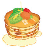 pancake Imagem de Stock