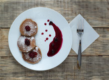 Pancake 3 Fotografia Stock Libera da Diritti