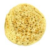 Pancake. Isolated over white background Stock Photos