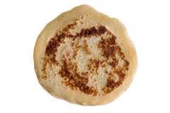 Pancake Above View on White Stock Image