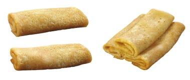 Pancake accorciati da un tubo Immagine Stock Libera da Diritti
