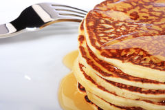 Pancake americani Fotografia Stock