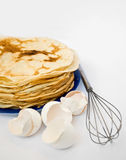Pancake And Shell Stock Images