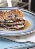 Pancake a basso contenuto di carboidrati Fotografia Stock Libera da Diritti