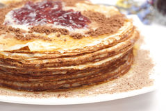 Pancake breakfast Royalty Free Stock Photo