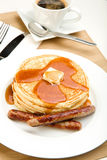 Pancake Breakfast Stock Photo