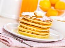 Pancake breakfast Stock Photos