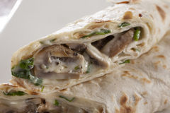 Pancake Burrito Stock Photos