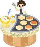 Pancake Cafe Royalty Free Stock Photography