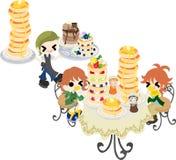 Pancake Cafe Royalty Free Stock Photo