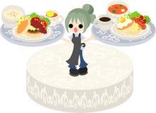 Pancake Cafe Royalty Free Stock Image