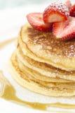Pancake chiunque? Fotografie Stock Libere da Diritti