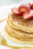 Pancake chiunque? Fotografia Stock Libera da Diritti