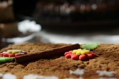 Pancake con cannella Fotografie Stock