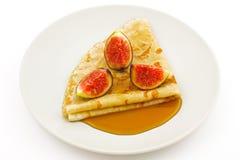 Pancake (crepe) Immagini Stock Libere da Diritti